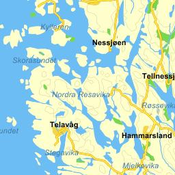telavåg kart Gule Sider® Kart telavåg kart