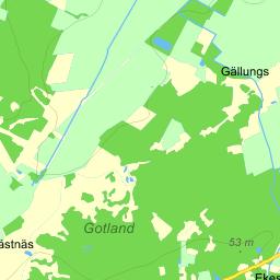 karta gotland eniro Gotland Bergbetningen   karta på Eniro karta gotland eniro