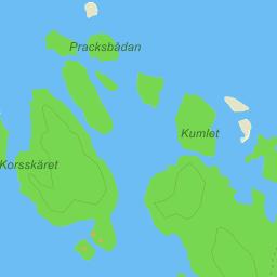 ormön karta Gräsö Ormön Agnesören   karta på Eniro ormön karta