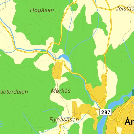 simostranda kart Trafikk Søndre Simostranda på Gule Siders kart