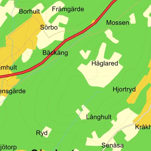 Karta Boras Djurpark.Sevardheter Boras Karta Pa Eniro
