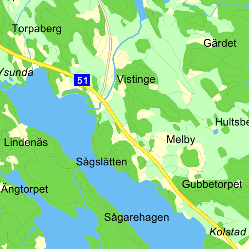 Karta Over Sveriges 25 Landskap.Sverige Karta Pa Eniro