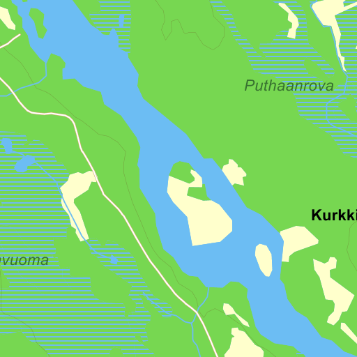 Karta Sverige Pajala.Tornedalen Karta