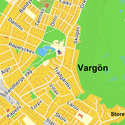 Karta Vanersborg.Bjorkasvagen Vargon Vanersborg Karta Pa Eniro