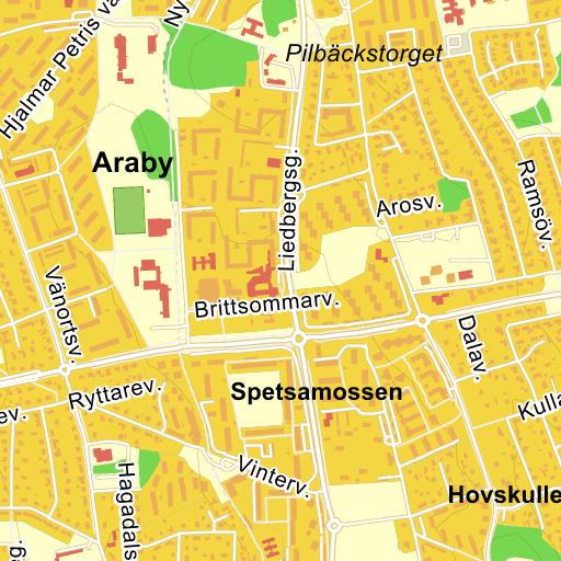 karta växjö med omnejd