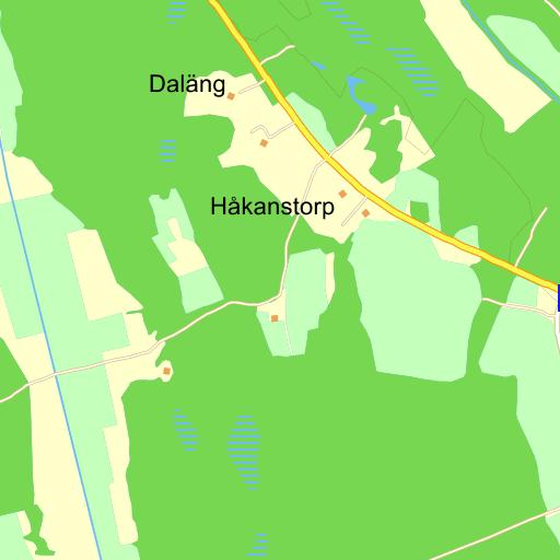Karta Skane Eniro.Vaxjo Orraryd Stora Skane Karta Pa Eniro