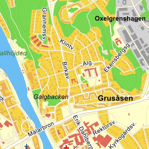 karta södertälje centrum