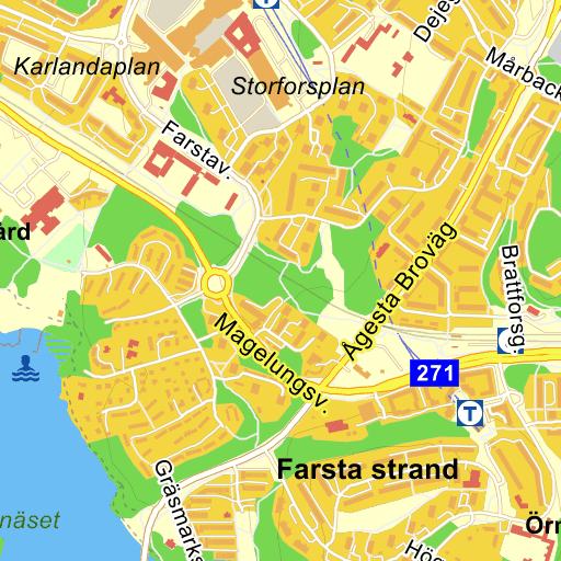 karta farsta stockholm