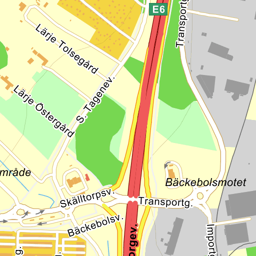 Karta E6 Goteborg.Goteborg Backebolsmotet Karta Pa Eniro