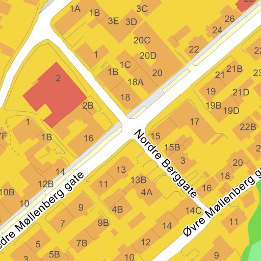møllenberg trondheim kart Nedre Møllenberg gate 18 7014 Trondheim   veibeskrivelse på kart